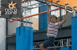 One 90-Minute Action Zone + Socks + $5 Game Card at Nitro Zone