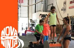 NoVa Ninja Warrior Camp