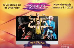 20% Off Circus Omnium Multi-Sensory Livestream Performances