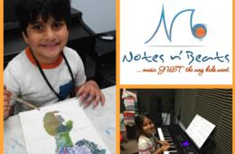 $160+ for Notes n' Beats Music and Art Camp for Ages 4+ - Ashburn (Up to $53 Off)