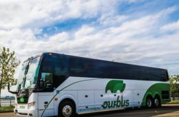 $15+ for Roundtrip Bus Fare between Washington, DC and New York City on OurBus - NEW STOP IN COLUMBIA, MD! (Up to 45% Off)