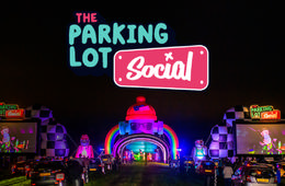 The Parking Lot Social Drive-In Experience