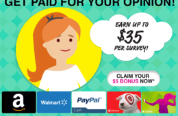 Get Paid for Taking Surveys With Swagbucks - Join FREE + Extra $5 Bonus!