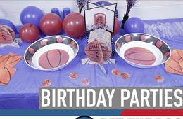 Pat the Roc Basketball Skills Academy Birthday Party