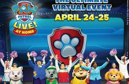 PAW Patrol Live! At Home – Virtual Event