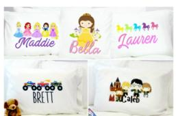 $15 for Personalized Kids Pillowcase – 21 Designs - Includes Shipping! ($25 Value - 40% Off)