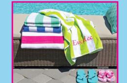 $16 for Personalized Beach Towel or $29 for Two Towels (Up to 49% Off)