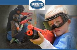 "$99 for Pev's ""PeeWee"" Paintball Party for Up to 10 Kids Ages 6 to 9 - Aldie, VA (53% Off - $210 Value)"