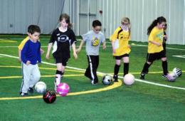 $72 for Quickfeet WINTER Soccer Session for Ages 2-6 in Columbia & Landover ($119 Value - 40% Off)