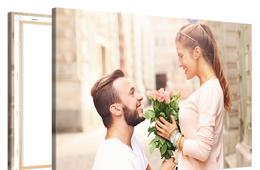One 8x8 Custom Photo on Canvas by Photo Gifts