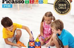 PicassoTiles - Magnetic Shape Building Sets