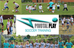 Pivotal Play Soccer Training Summer Soccer Clinic for Ages 21-24 Months