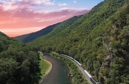 Potomac Eagle Scenic Train Ride - See Bald Eagles!