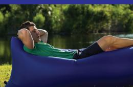 $20 for PouchCouch™ Inflatable Lounger - Instant Relaxation Anytime, Anywhere! Perfect for Gaming, Outdoors, Sleepovers & More! ($40 Value - 50% Off)