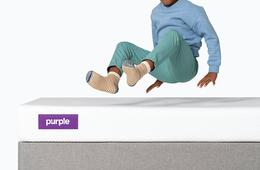 Up to $400 Off a Mattress + FREE Purple Pillow