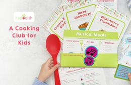 $15 Off Raddish Kids Cooking Club + FREE Apron & Shipping Included