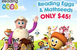 Learn to Read with Reading Eggs!