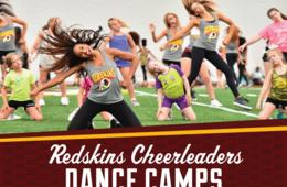Teen & Junior Dance Camps at Cheer Studio - Fed Ex Field