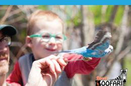 $18+ for Roer's Zoofari Annual Pass in Vienna - Includes Wagon Rides! (40% Off)