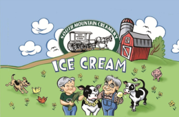 $5 for Dairy Farm Tour + Hand Crafted Ice Cream at South Mountain Creamery Near Frederick (45% Off)