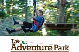 $58 for Two Summer Weekday Tickets to The Adventure Park at Sandy Spring (up to 50% off - $116 value)