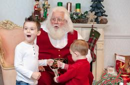 The Santa Experience Maryland - Private Family Photo Session