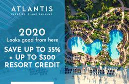 Up to 35% Off Atlantis Resort Getaway + $300 Credit
