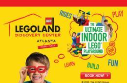 $12.10 for Legoland Discovery Center Atlanta Admission ($21.55 Value - 44% Off)