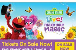 Enter to Win 4 Tickets to Sesame Street Live! Make Your Magic! at EagleBank Arena