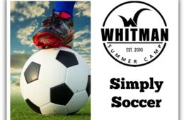 $195+ for Whitman Day Camp Simply Soccer + Day Camp or Lego Engineering for Rising 3rd - 8th Graders: July 24th - 28th (Up to $105 Off!)