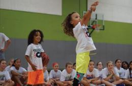 $99 for Slam City Basketball Spring Break Camp for Ages 5-17 at nZone in Chantilly ($195 Value - 50% Off)