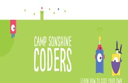 Camp Sonshine's BRAND NEW Coders Camp