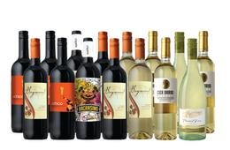 15 Bottles of Splash Wines BBQ Reds & Patio Whites + FREE Shipping