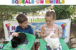 Squeals on Wheels Traveling Petting Zoo Bunnies & Buddies Party