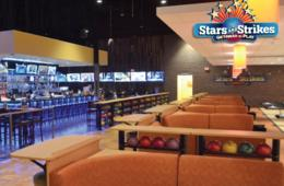Stars and Strikes Bowling + Shoe Rental, Game Card & Bumper Car Passes