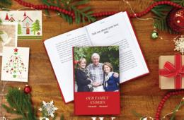 $59 for A Customizable Keepsake Book With Weekly Stories From Your Loved One - Perfect for the Holidays! (26% Off)