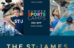 35% Off The St. James Summer Sports Camps