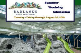 Badlands Summer Weekday Admission