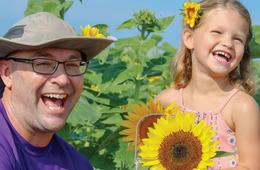 Family 4-Pack Admission to Sunflower Festival at Maple Lawn Farms