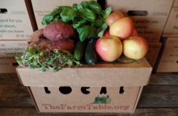 $29 for Home-Delivered Farmer's Market Box & More from The Farm Table - Northern Virginia (41% off - $49 value)