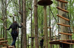 BRAND NEW! TreeTrekkers Outdoor Aerial Challenge & Zipline Park
