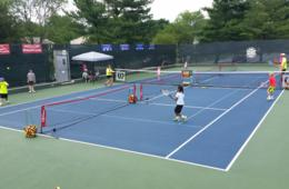 $236+ for Tennis Camp at Quince Orchard Swim and Tennis Club for Ages 6-16 in Gaithersburg (Up to $69 Off)