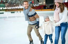 The Gardens Ice House Admission + Skate Rental