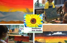 $35+ for Sunflower Arts Studio Art Adventure Camp for Ages 6-13 - Tysons (31% Off)