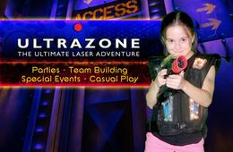 Ultrazone® Laser Tag Triple Play Card