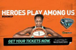 $15+ for New York Liberty Basketball Tickets - Madison Square Garden (Up to 43% Off)