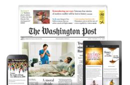 52 Weeks of The Washington Post Home Delivery + Unlimited Digital Access