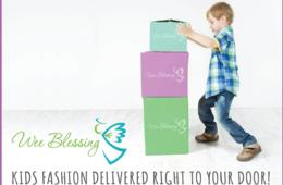One FREE Outfit from Wee Blessing: Professional Children's Styling Service with Brand Name Fashions for Busy Moms!