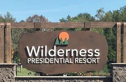 Wilderness Presidential Resort Cabin Getaway