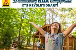 Williamsburg KOA 2-Night Cabin or Campsite Spring Getaway